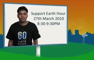 Support Earth Hour by Shashidhar Kumar